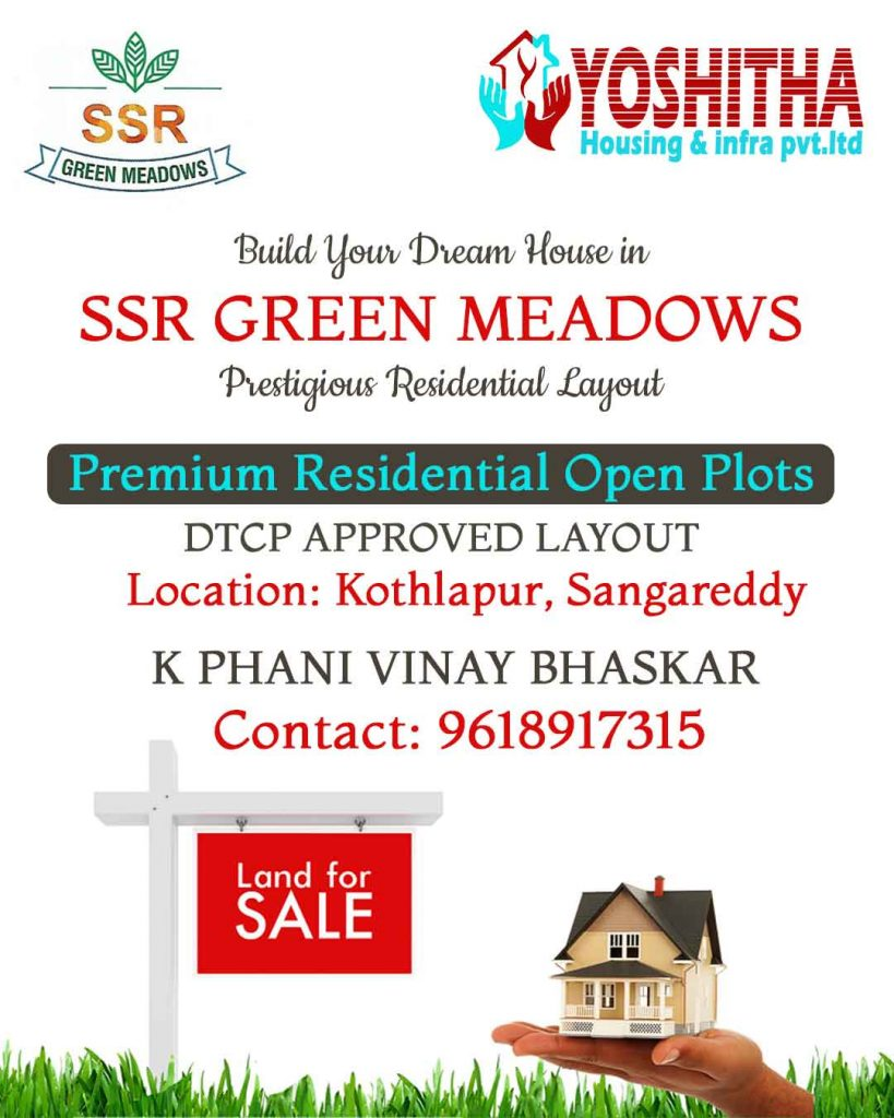Premium Residential Open Plots for Sale in Sadasivpet